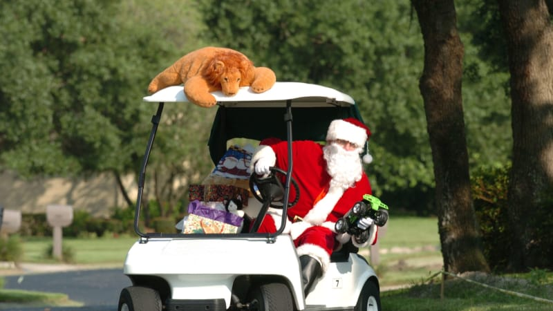 Golf Post Adventskalender