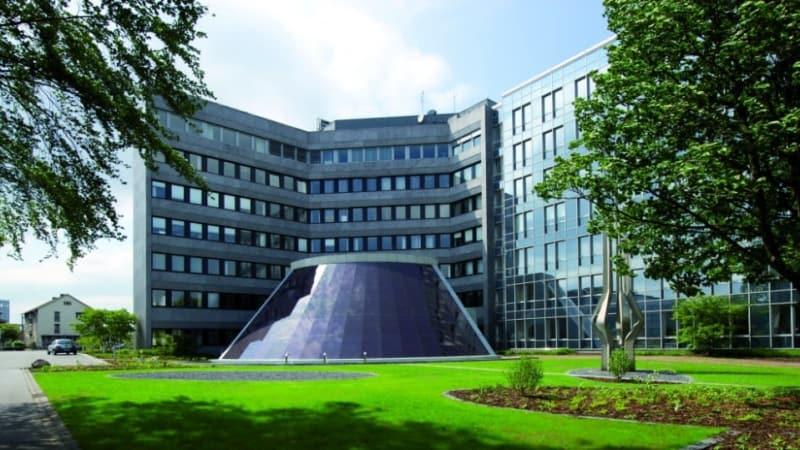 Die Schüco-Zentrale in Bielefeld