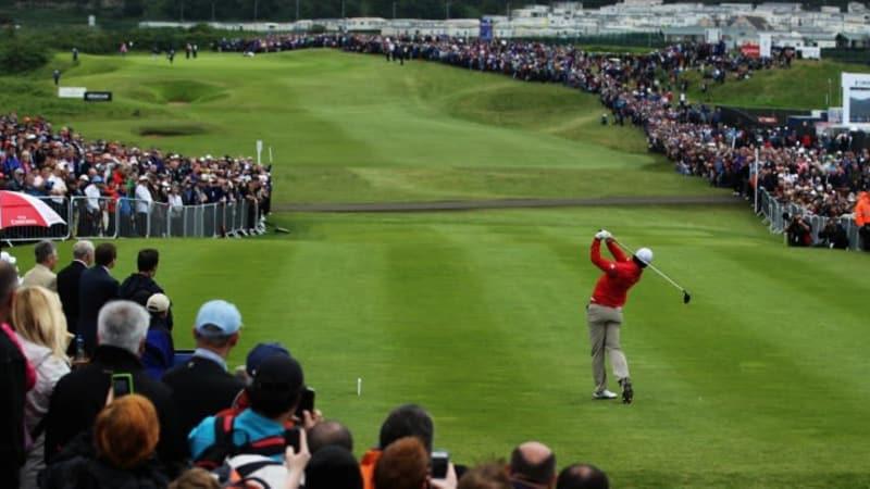 Rory McIlroy bei der Irish Open 2012 (Foto: Getty)