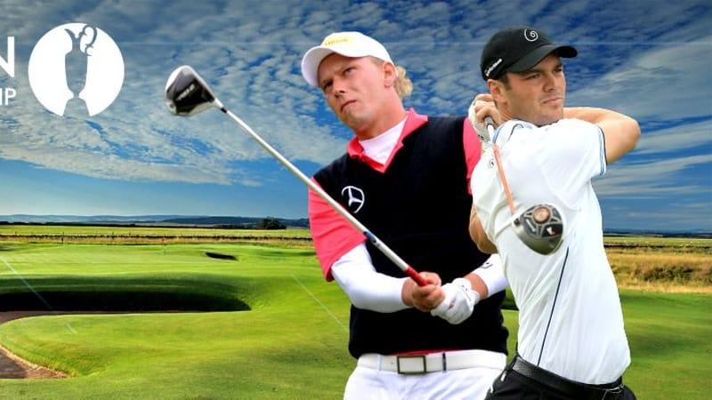 Marcel Siem und Martin Kaymer bei der British Open