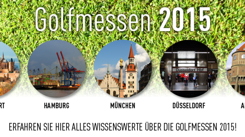 Golfmessen in Deutschland 2015 (Foto: Golf Post)