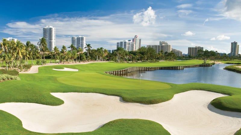 In Florida gibt es traumhafte Golfplätze zu bestaunen. (Foto: Getty)