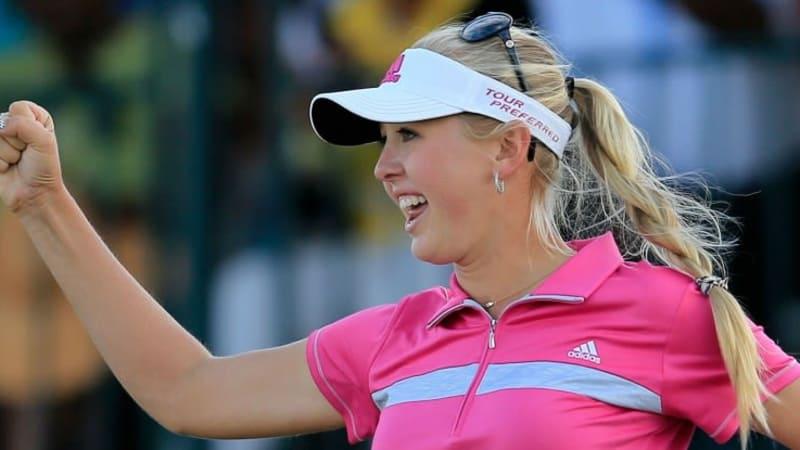Das Highlight-Video zeigt Jessica Kordas Weg zum Sieg bei der Pure Silk Bahamas LPGA Classic, Sandra Gals Erfolg und erklärt die Neuerung 2014