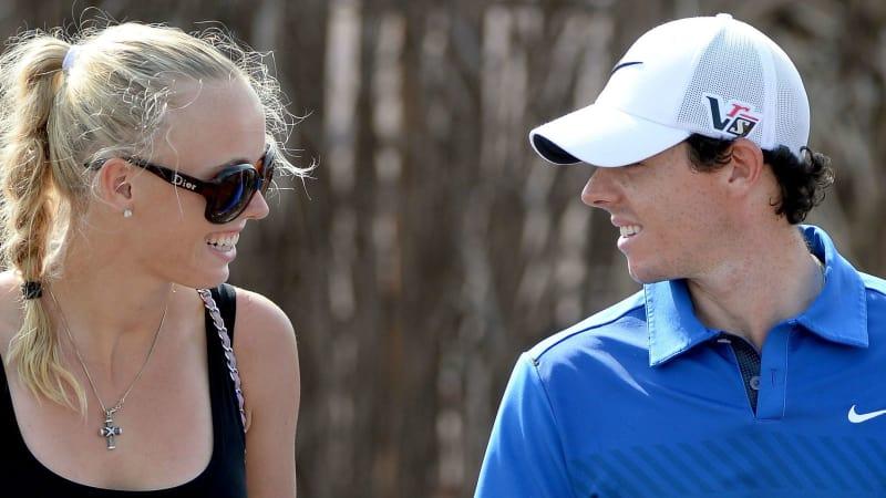 Rory McIlroy und Caroline Wozniacki sind jetzt verlobt.