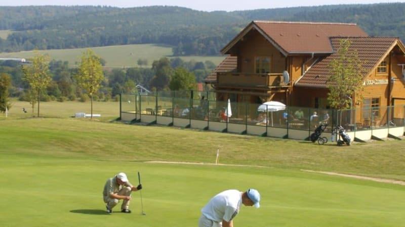 Schnuckliges Clubhaus: Der Golfclub Meisdorf. (Foto: Meisdorf)