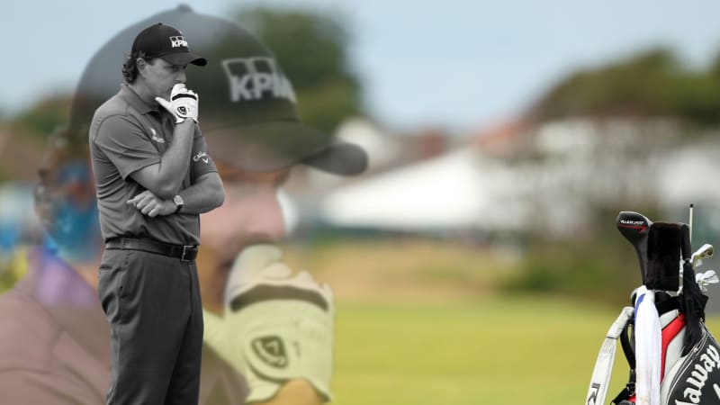 Phil Mickelson British Open 2012