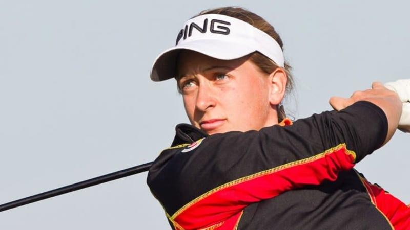 Nina Holleder hat sich mit der zweiten 68er Runde beim Lalla Meryem Cup in Marokko an der Spitze festgesetzt