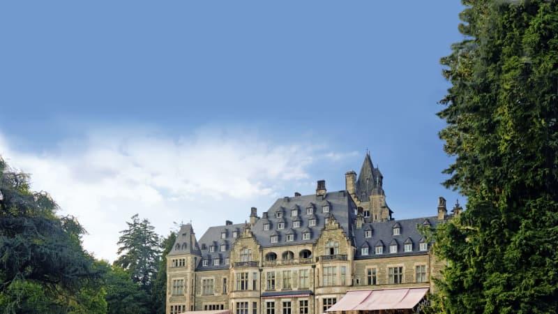 Schon bald kann einer unserer Leser in einem kaiserlichen Ambiente abschlagen und sich im Schlosshotel Kronberg verwöhnen lassen. (Foto: Schlosshotel Kronberg)
