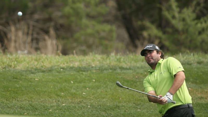 Hoch und rein - Steven Bowditch führt das Feld der Valero Texas Open als Spitzenreiter ins Wochenende. (Foto: Getty)