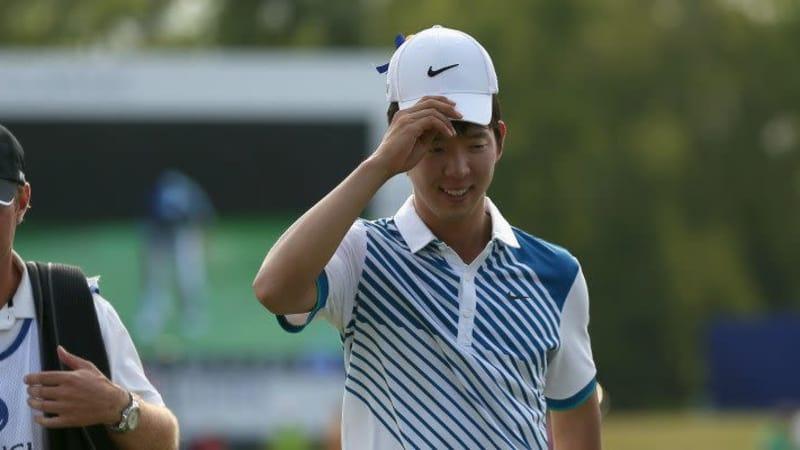 Seung-Yul Noh bei der Zurich Classic 2014