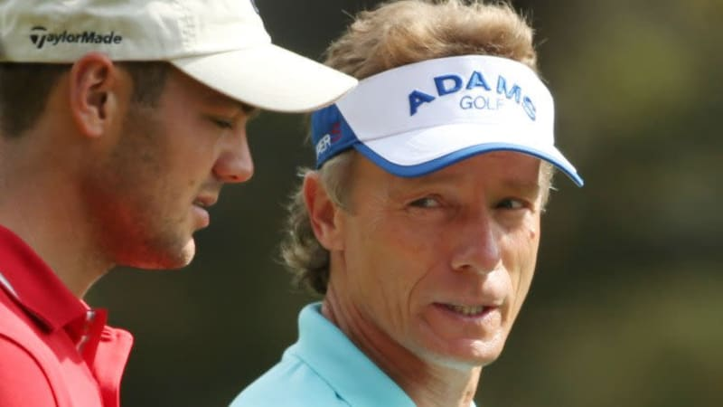 Am vergangenen Wochenende waren sie noch gemeinsam beim Masters unterwegs, nun gehen sie auf PGA und Champions Tour wieder getrennte Wege.