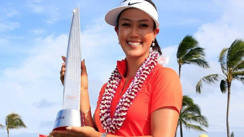 Michelle Wie siegte bei der LPGA LOTTE Championship vor Angela Stanford und Inbee Park.