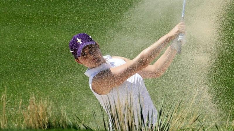 Caroline Masson hält in Abwesenheit Sandra Gals die deutschen Farben bei der Airbus LPGA Classic in Alabama hoch.
