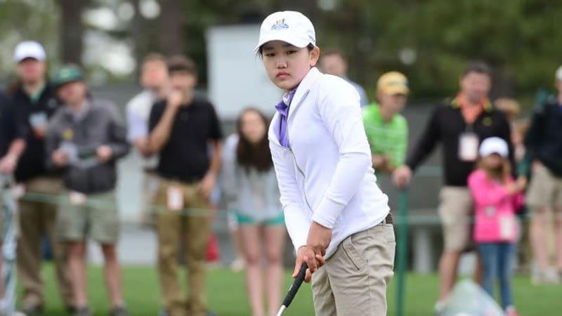 Lucy Li, US Open 2014