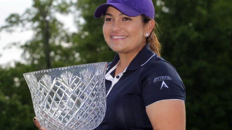 Lizette Salas holte sich bei der Kingsmill Championship den ersten Sieg ihrer Profikarriere.