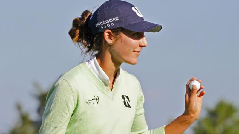Jennifer Johnson am ersten Tag der Shoprite LPGA Classic an die Spitze. (Foto: Getty)