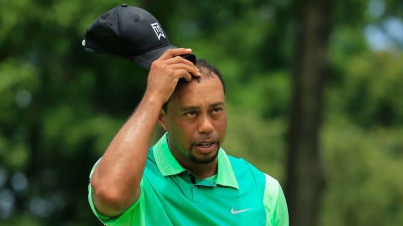 Tiger Woods bei der Quicken Loans National 2014