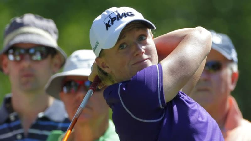 Stacy Lewis bei der ShopRite LPGA Classic