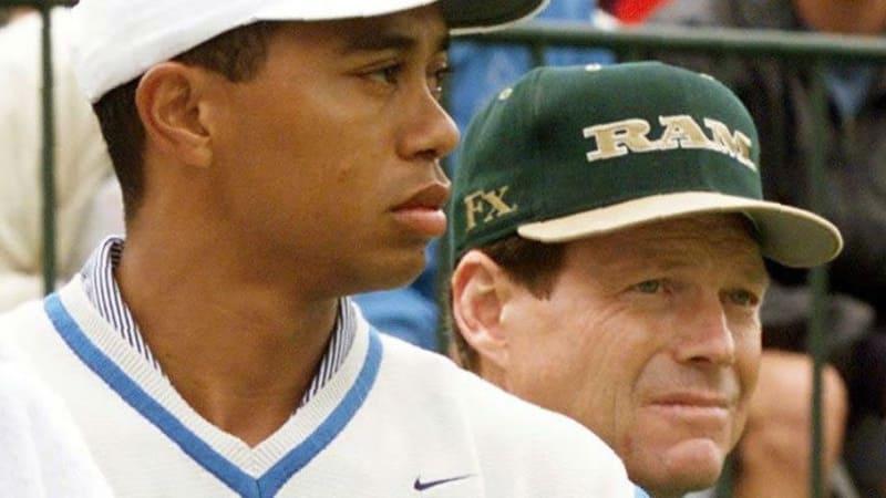 Früher spielten sie miteinander, heute ist Tom Watson Kapitän des Team USA für den Ryder Cup und hofft auf einen gesunden Tiger Woods.