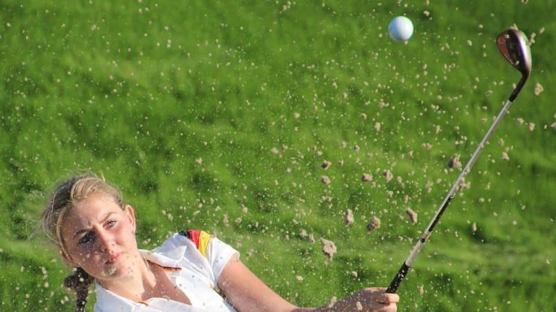 Olivia Cowan vom GC St. Leon-Rot holt in Schweden das beste deutsche Ergebnis. (Foto: DGV/stebl)