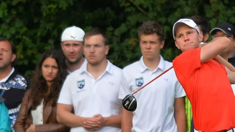 Max Kieffer bei der Scottish Open 2014