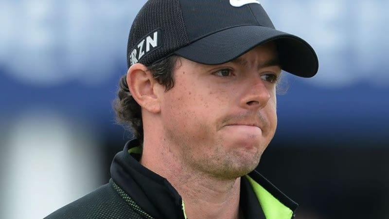 McIlroy Rory verliert seine Spitzenposition bei der Scottish Open am Ende des zweiten Tages