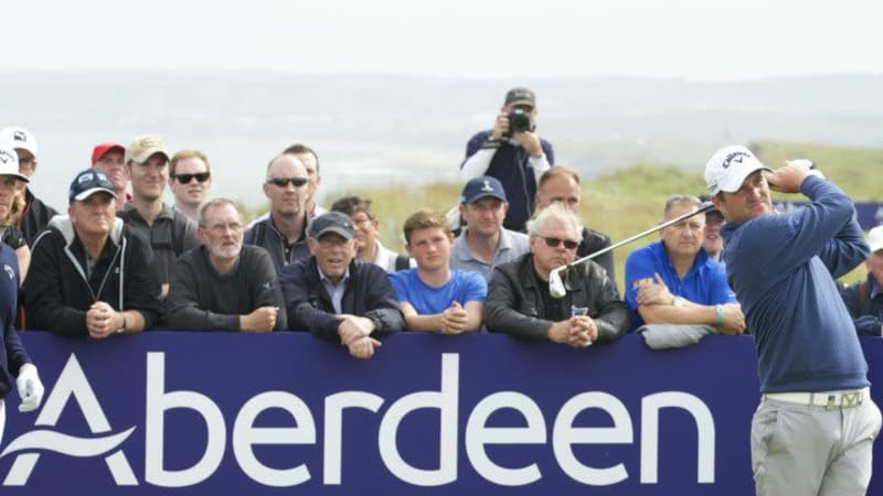Lokalmatador Marc Warren teilt sich nach dem Moving Day der Scottish Open die Führung mit Justin Rose. (Foto: Getty)
