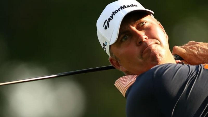 Bo van Pelt sicherte sich die Führung bei The Barclays nach der ersten Runde.