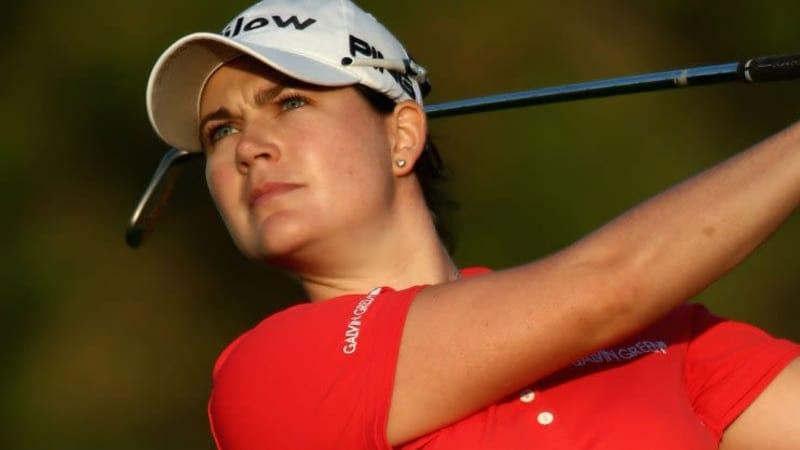 Caroline Masson und Sandra Gal müssen nach abgebrochener Runde weiter um den Cut bei der Coates Golf Championship in Florida bangen.