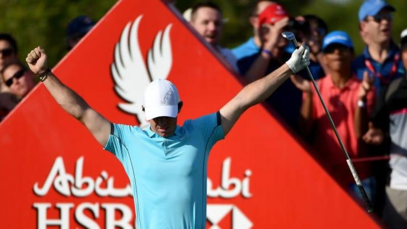 McIlroys erstes Hole in One, Martin Kaymer an der Spitze und ein Tänzchen mit Jumenez - kann ein Golf-Jahr besser starten? (Foto: Getty)