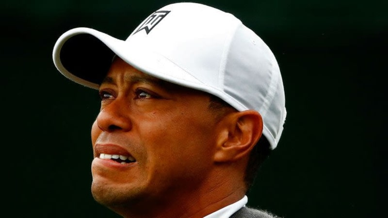 Ein Blick der alles sagt - Tiger hat sein Comeback 2015 mal so richtig vergeigt. (Foto: Getty)