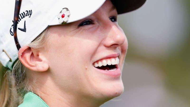 Brooke Pancake - übersetzt Pfannkuchen - sicherte sich am ersten Tag der Pure Silk Bahamas LPGA Classic die Führung.