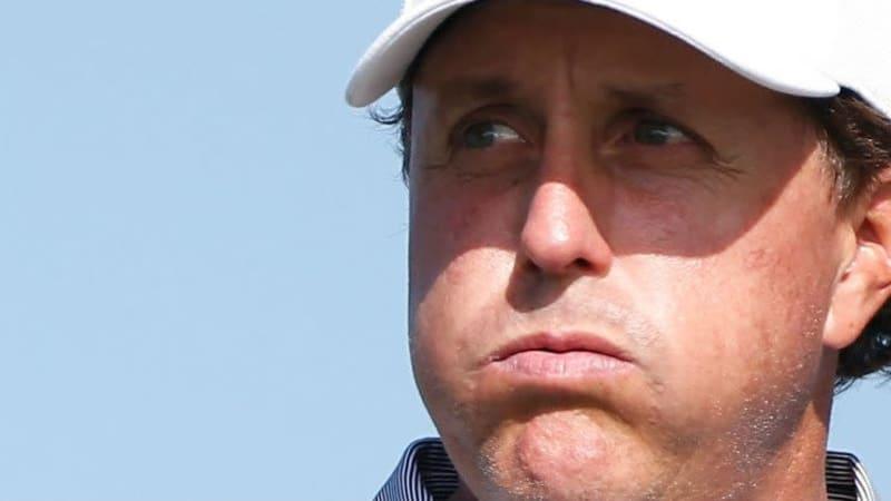 Phil Mickelson ist nach dem nächsten verpassten Cut bei der Farmers Insurance Open alles andere als zufrieden mit seinem Spiel.