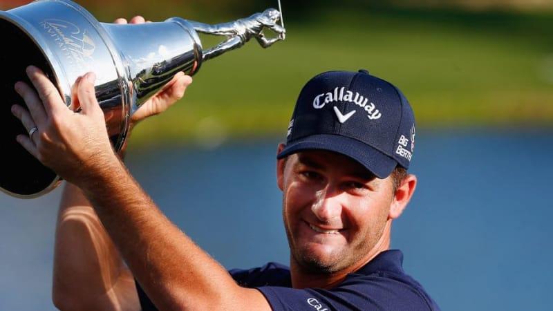 """Matt Every nach seinem zweiten Sieg in Folge beim Arnold Palmer Invitation: """"Ich habe Tiger Woods gesagt, dass ich die Trophäe verwahre, bis er zurück ist."""" (Foto: Getty)"""