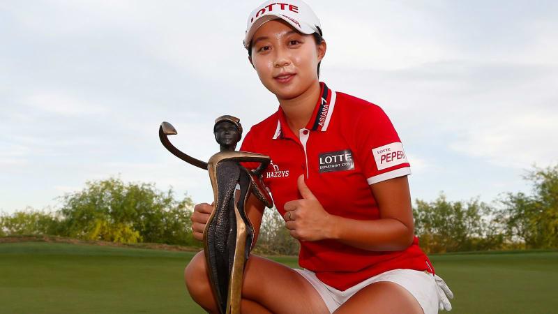 Hyo Joo Kim aus Südkorea gewinnt ihren zweiten Titel auf der Tour. (Foto: Getty)
