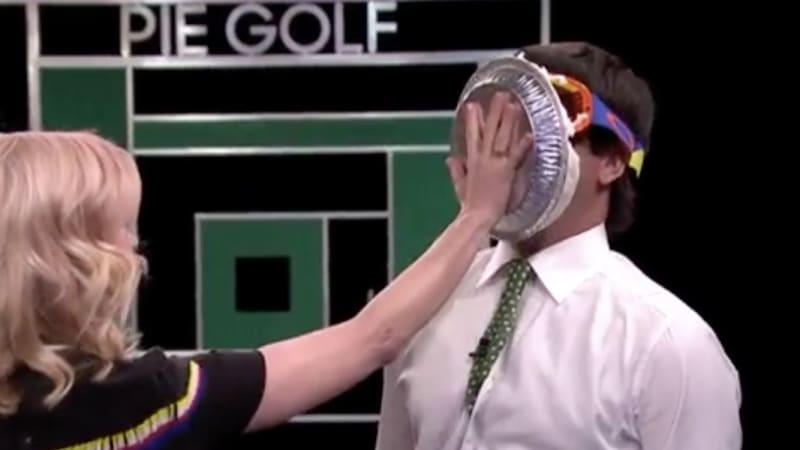 Bubba Watson Jimmy Fallon Tonight Show Tortengolf