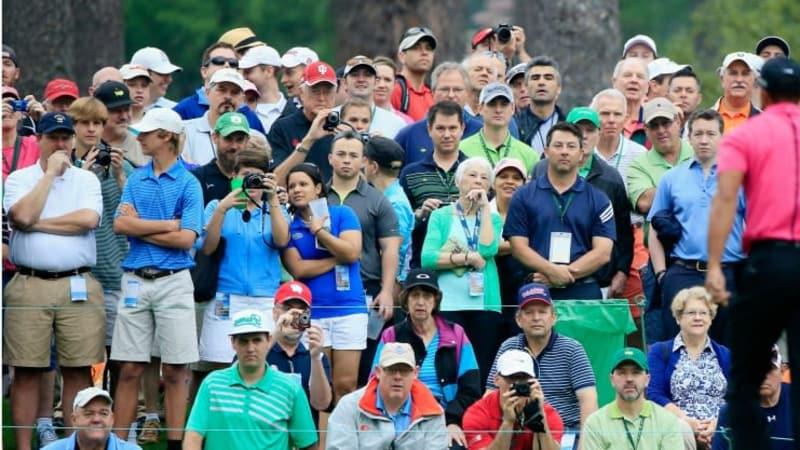 Die Euphorie in Augusta ist nach der Bekanntgabe Tiger Woods' am Masters extrem groß.