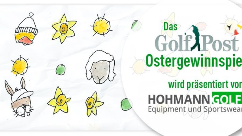 Das Golf Post Ostergewinnspiel powered by Hohmann Golf - bald geht's los. (Bild: Golf Post)
