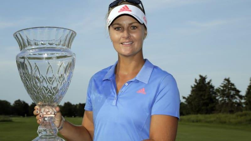 Anna Nordqvist gewinnt bei der ShopRite LPGA Classic ihren ersten Saisontitel. (Foto: Getty)
