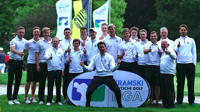Die Herren des Hamburger Golfclubs konnten den zweiten Spieltag mit deutlicher Führung für sich entscheiden. (Foto: DGV/stebl)