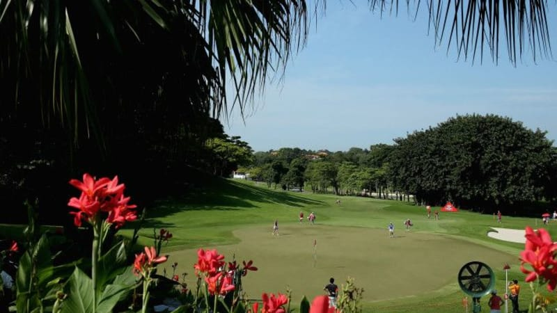 Der Sentosa Golf Club in Singapur lockt mit Exklusivität.