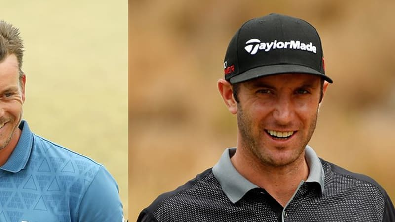 Henrik Stenson Dustin Johnson US Open