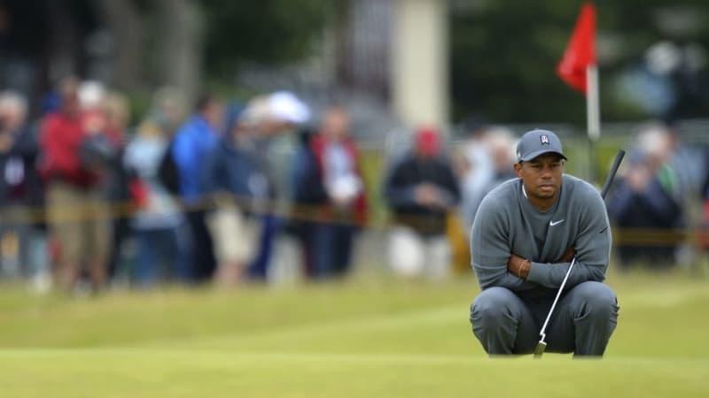 Tiger Woods auf der Suche nach der Form. Er selbst hat sich noch nicht aufgegeben. Oder doch? (Foto: Getty)