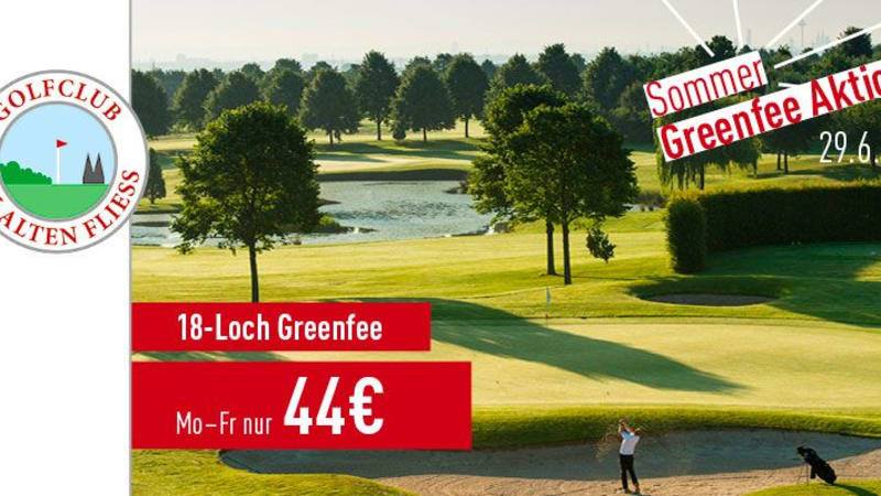 Die Sommer Greenfee Aktion vom Golfclub Am Alten Fliess (Foto: Golf Post)
