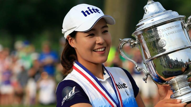 Erster Sieg bei erster Teilnahme - In Gee Chun mit dem Pokal der US Women's Open (Foto: Getty)