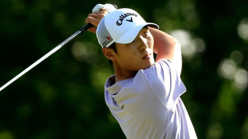 Danny Lee WGC Bridgestone Invitational