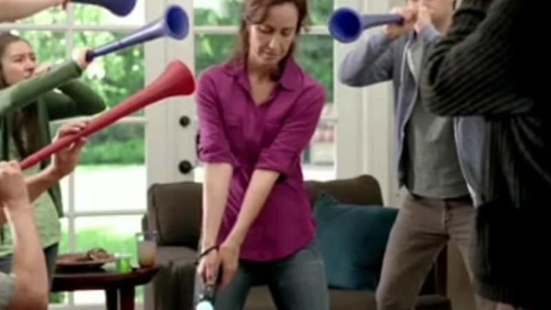 Golfwerbung Playstation Move