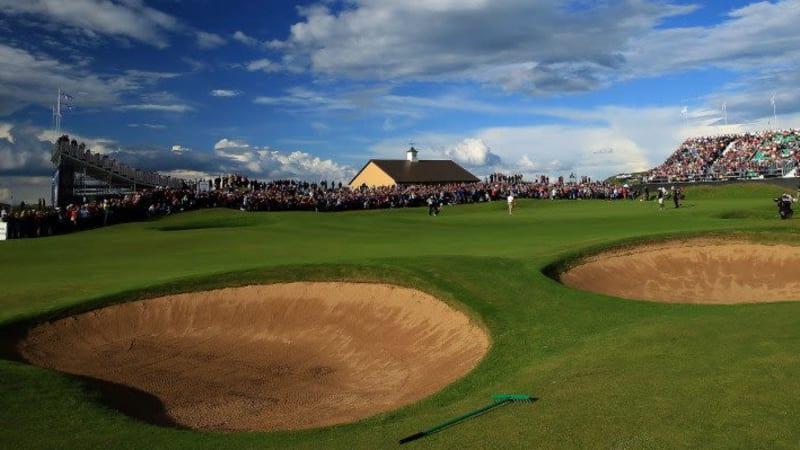 Der Royal Portrush Golf Club trifft schon die ersten Vorbereitungen für die British Open 2019. (Foto: getty)