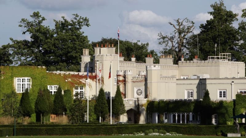 Wentworth Golf Club in Surrey bei London. (Foto: Getty)