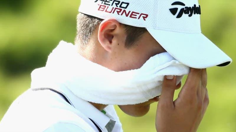 Dominic Foos konnte beim NBO Golf Classic Grand Final am Finaltag nicht mehr punkten. (Foto: Getty)